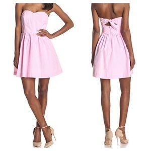 Lilly Pulitzer Richelle dress pink seersucker/4